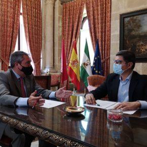 Ciudadanos ofrece a Espadas la firma de un acuerdo de estabilidad política para los próximos dos años