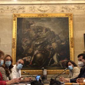 """Ciudadanos avanza en la negociación del acuerdo de estabilidad política para la ciudad de Sevilla: """"No hay tiempo que perder"""""""