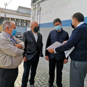 """Ciudadanos pide al gobierno que """"escuche a los empresarios"""" y """"dé luz verde"""" al control de acceso en el Polígono Navisa"""