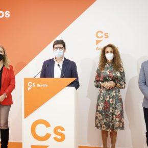 """Pimentel: """"Ciudadanos va a seguir siendo ese partido sensato y útil, capaz de romper la política de bloques por el bien del interés general de Sevilla"""""""