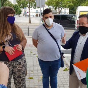 """Ciudadanos advierte de """"la sensación de abandono"""" de los vecinos de La Corza por """"la falta de inversiones en el barrio"""""""