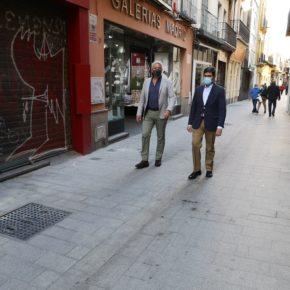 """Ciudadanos lamenta la """"despersonalización"""" de la calle Cuna e insta al gobierno a """"no repetir el mismo error"""" en Mateos Gago"""