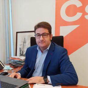 """Ciudadanos propone a la Diputación de Sevilla """"medidas concretas"""" para mantener la actividad económica y proteger el empleo"""