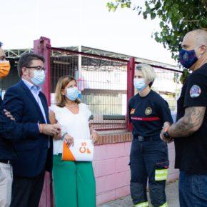 """Santa María: """"Gracias al trabajo de Ciudadanos, la Diputación destinará 200.000 euros a mejorar las condiciones de trabajo de los bomberos de Écija"""""""