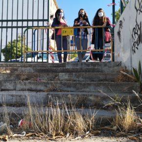 """Ciudadanos lamenta el """"abandono"""" de la Plaza del Cementerio en Sevilla Este, convertida """"en un foco del botellón"""""""