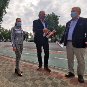 """Ciudadanos propone crear una rotonda entre las avenidas Flota de Indias y Adolfo Suárez para """"dar fluidez al tráfico"""" en Los Remedios"""