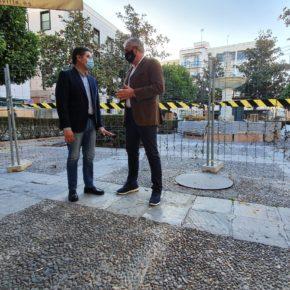 """Ciudadanos reclama que las obras de la Plaza de la Magdalena sean """"respetuosas"""" con """"el pavimento tradicional sevillano"""""""