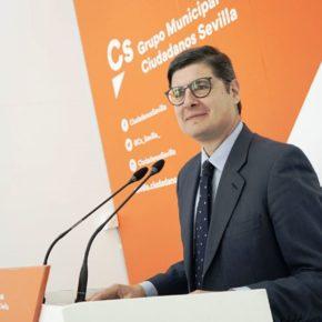"""Pimentel: """"La apuesta de Ciudadanos por la formación para el empleo ofrece nuevas oportunidades a más de 2.500 parados en Sevilla"""""""