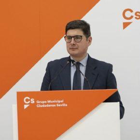"""Ciudadanos señala que el dictamen favorable del CESS sobre el presupuesto confirma que """"son las cuentas que necesita Sevilla"""""""