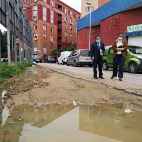 Ciudadanos plantea la reurbanización de la explanada de la avenida Parque Amate junto a la calle Magnetismo