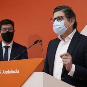 """Pimentel: """"Los presupuestos de Ciudadanos en la Junta van a permitir que los sevillanos afronten el 2021 con optimismo y certidumbre"""""""