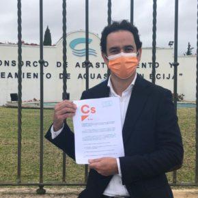 """Ciudadanos Écija lamenta la """"nefasta"""" transparencia del alcalde con la crisis del benceno que ha provocado una """"evidente"""" falta de confianza"""