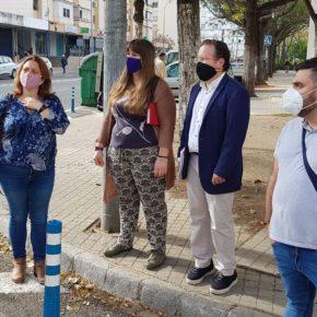 """Ciudadanos reclama la ampliación de los acerados en el barrio de La Corza para """"mejorar la accesibilidad"""" de sus vecinos"""