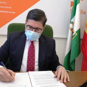 """Ciudadanos pide al gobierno local que impulse la construcción de ascensores para dar """"libertad y autonomía"""" a los sevillanos"""