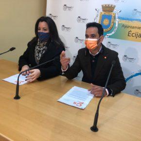 """Ciudadanos Écija registra una moción para """"bonificar"""" el recibo de la luz a las familias más desfavorecidas"""