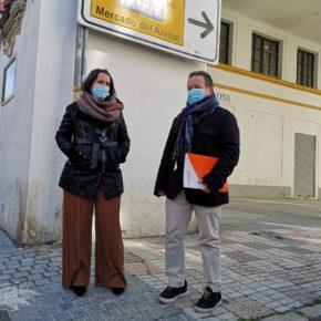 Ciudadanos reclama al gobierno local que aclare qué servicios municipales ocuparán los locales vacíos del Mercado del Arenal