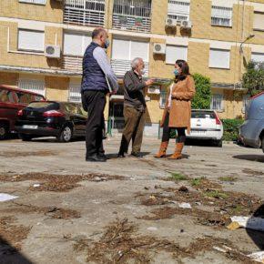 """Ciudadanos lamenta los """"problemas de limpieza, accesibilidad y desbroce"""" que afectan a la barriada de Santa María de Ordás"""