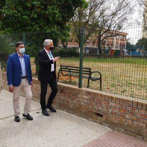 """Ciudadanos arranca """"el compromiso firme"""" del gobierno local para reurbanizar el solar abandonado de San Vicente de Paúl"""
