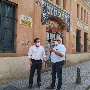 """Ciudadanos lamenta el """"letargo"""" de la Nave Singer y reclama """"un proyecto innovador"""" para la puesta en valor del edificio"""