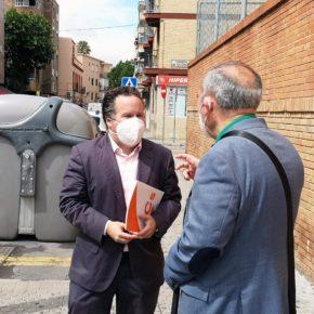 """Ciudadanos advierte de """"la preocupante falta de sombras"""" en varias paradas de Tussam del Distrito Triana"""