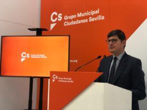 """Ciudadanos propondrá al Pleno """"un frente común"""" contra """"la subida desproporcionada de la factura de la luz"""""""