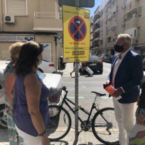 """Ciudadanos denuncia el """"caos"""" que está provocando """"la falta de planificación"""" de varias obras en calles de Los Remedios"""