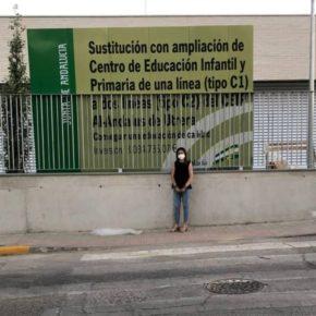 Ciudadanos valora positivamente la inversión de la Junta de Andalucía en las obras del Colegio 'Al-Andalus' en Utrera