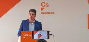 """Pimentel: """"Las auditorias y la creación de la Oficina contra el Fraude prueban que Ciudadanos ha sido el freno de la corrupción y el despilfarro en Andalucía"""""""