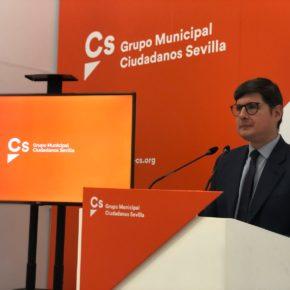 """Ciudadanos lamenta """"la escasa promoción"""" de la app 'Sevilla, tu ciudad', que """"sólo ha descargado uno de cada cien sevillanos"""""""