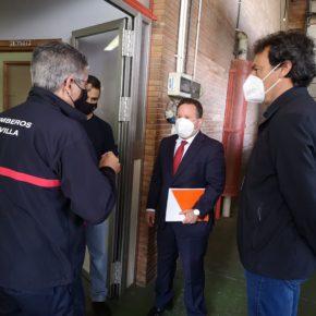 """Ciudadanos avisa de que """"más del 60% de las plazas de mandos de los Bomberos de Sevilla están vacantes o en situación de interinidad"""""""
