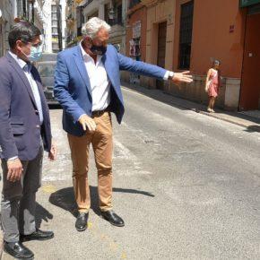 """Ciudadanos exige al gobierno que asuma """"el fracaso"""" de la obra de la calle Zaragoza y """"replantee los plazos y el proyecto"""""""
