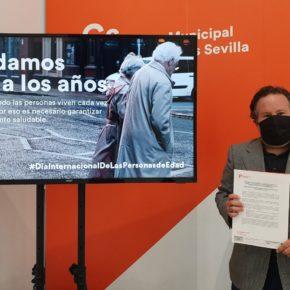 """Ciudadanos lamenta """"la falta de iniciativas"""" del gobierno para favorecer el envejecimiento activo de las personas mayores"""