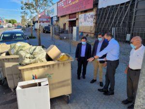 """Ciudadanos denuncia """"problemas de limpieza"""" en los polígonos industriales y exige a Lipasam """"una respuesta rápida y eficaz"""""""